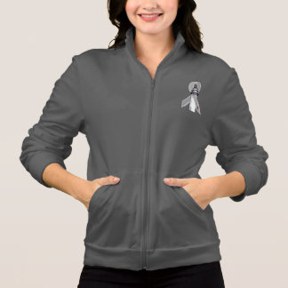 Diabetes Awareness Ribbon Lighthouse of Hope Jacket