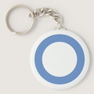 diabetes-blue-circle keychain