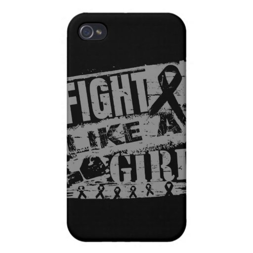 Diabetes BurnOut Fight Like a Girl iPhone 4/4S Case