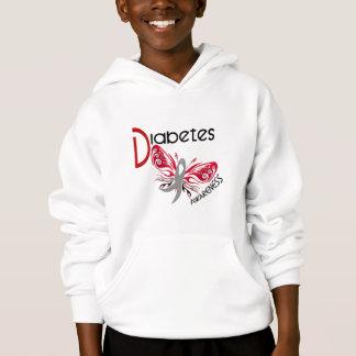 Diabetes BUTTERFLY 3 Hoodie
