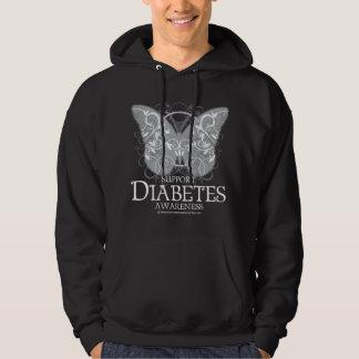 Diabetes Butterfly Hoodie