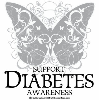 Diabetes Butterfly Statuette