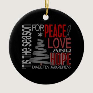 Diabetes Christmas 1 Ornaments