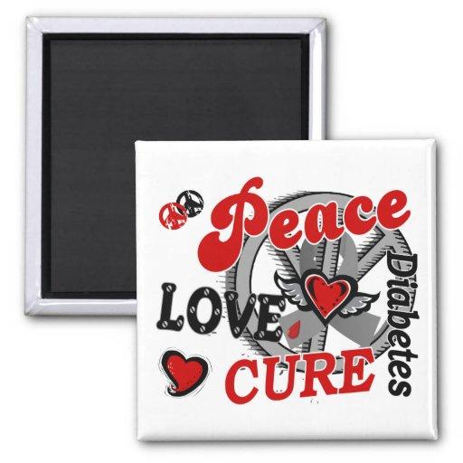 Diabetes de la curación 2 del amor de la paz iman