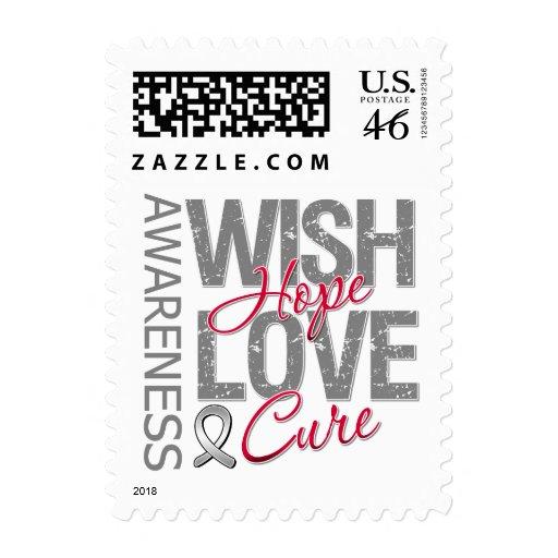 Diabetes de la curación del amor de la esperanza d sellos