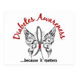 Diabetes de la mariposa 6,1 del tatuaje del Grunge Postal