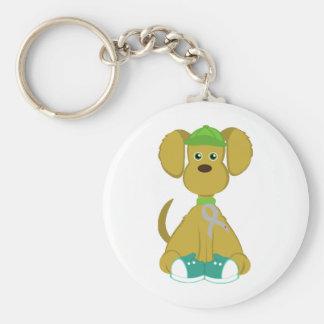 Diabetes Dog Keychain