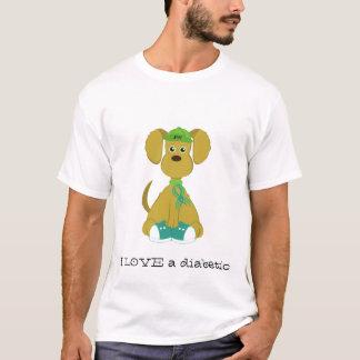 Diabetes Dog Men's T-Shirt