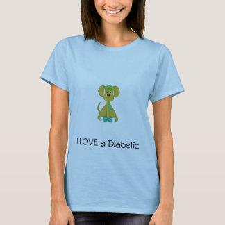Diabetes Dog Women T-Shirt