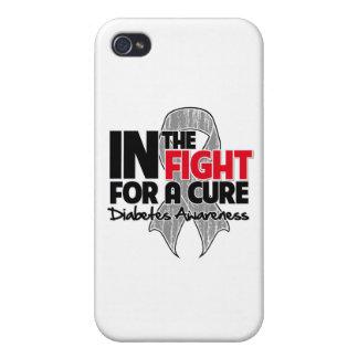 Diabetes en la lucha para una curación iPhone 4/4S carcasa