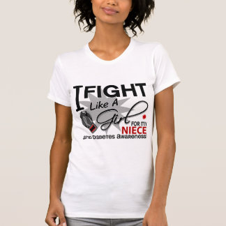 Diabetes Fight Like A Girl Niece 11 Tanks