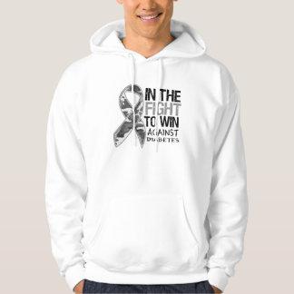 Diabetes - Fight To Win Hooded Sweatshirt