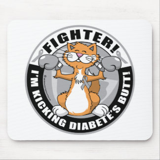 Diabetes Fighter Mouse Pad