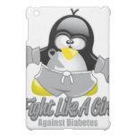 Diabetes Fighting Penguin iPad Mini Cover