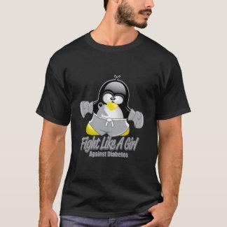 Diabetes Fighting Penguin T-Shirt