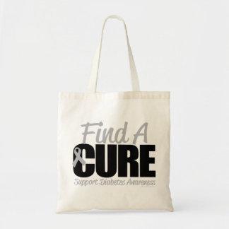 Diabetes Find A Cure 2 Tote Bag