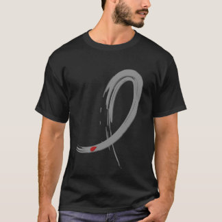 Diabetes Grey Ribbon A4 T-Shirt