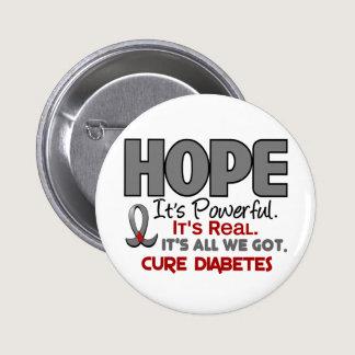 Diabetes HOPE 1 Pinback Button