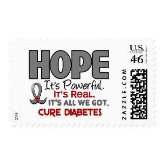 Diabetes HOPE 1 Postage Stamps