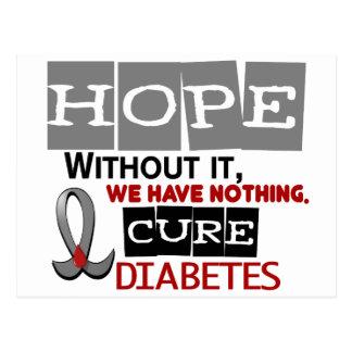 Diabetes HOPE 2 Postcard