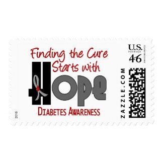 Diabetes HOPE 4 Stamps