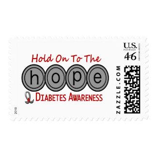 Diabetes HOPE 6 Stamps