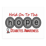 Diabetes HOPE 6 Postcards