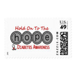 Diabetes HOPE 6 Stamps