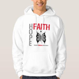 Diabetes Hope Faith Hoodies