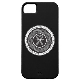 Diabetes Hope Intertwined Ribbon iPhone 5 Cover