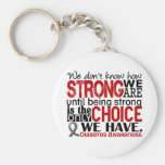 Diabetes How Strong We Are Basic Round Button Keychain
