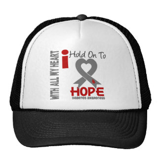 Diabetes I Hold On To Hope Trucker Hat