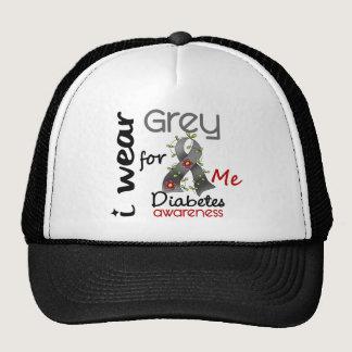Diabetes I Wear Grey For ME 43 Trucker Hat