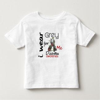 Diabetes I Wear Grey For ME 43 T Shirts