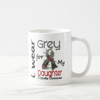 Diabetes I Wear Grey For My Daughter 43 Coffee Mug