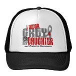 Diabetes I WEAR GREY FOR MY DAUGHTER 6.2 Trucker Hats