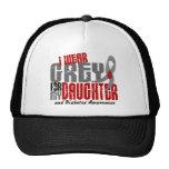 Diabetes I WEAR GREY FOR MY DAUGHTER 6.2 Trucker Hat