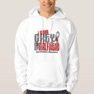 Diabetes I WEAR GREY FOR MY GIRLFRIEND 6.2 Sweatshirt