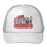 Diabetes I WEAR GREY FOR MY GRANDDAUGHTER 6.2 Hats