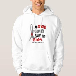 Diabetes I Wear Grey For My Mom 37 Sweatshirt