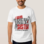 Diabetes I WEAR GREY FOR MY SISTER 6.2 T-shirts