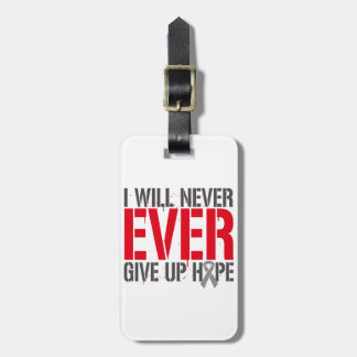 Diabetes I Will Never Ever Give Up Hope Bag Tag