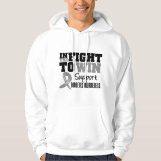 Diabetes In The Fight To Win Sweatshirt