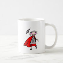Diabetes Insulin Superhero Girl Coffee Mug