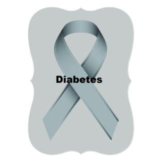 Diabetes 5x7 Paper Invitation Card