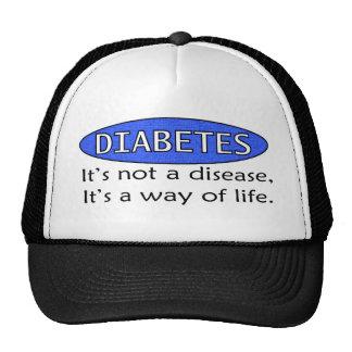 Diabetes: It's Not a Disease, It's a Way of Life. Trucker Hats