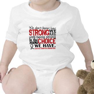 Diabetes juvenil cómo es fuerte somos traje de bebé