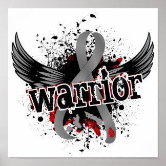 Diabetes juvenil del guerrero 16 póster