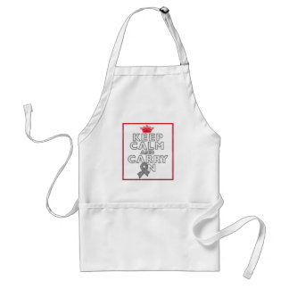 Diabetes Keep Calm and Carry ON Adult Apron