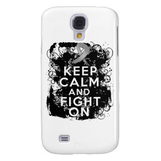 Diabetes Keep Calm and Fight On Samsung Galaxy S4 Case